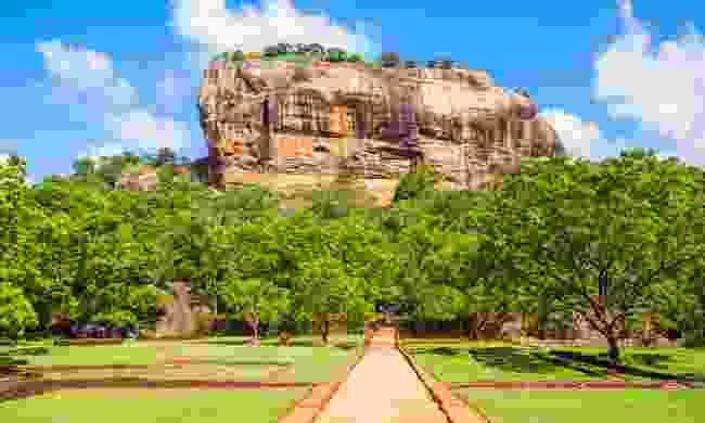 Sigirya, the ancient rock fortress is nearly 200m high (Shutterstock)