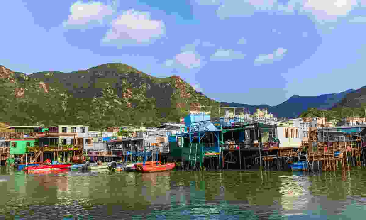The beautifully rustic village of Tai O (Shutterstock)