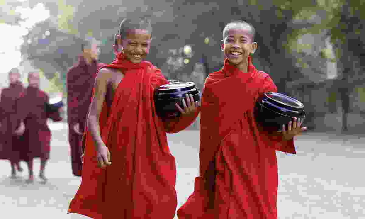 Happiness is a goal in Buddhism (Shutterstock)