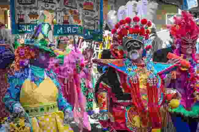 Mardis Gras costumes (Shutterstock)