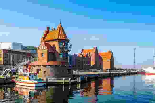 Stralsund marina, Germany (Shutterstock)