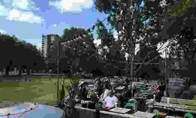 Be warned - the park-side pub garden gets busy during summer (Pub on the Park)