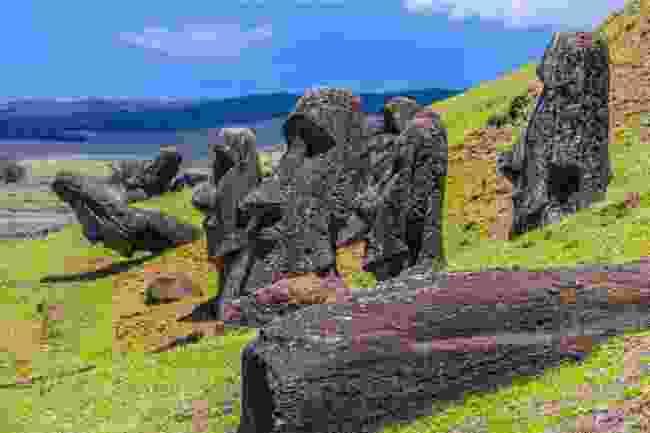 Rano Raraku, Easter Island (Shutterstock)