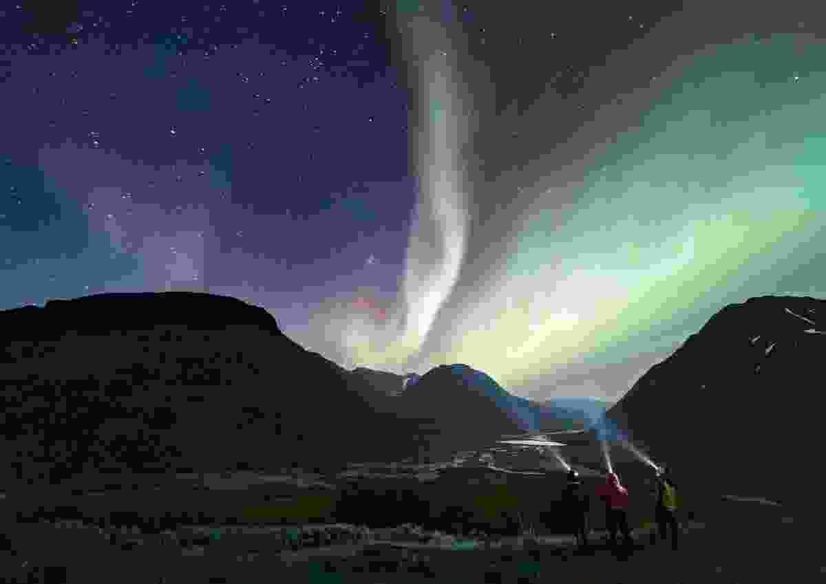 Nature's light show, Sarek National Park, Swedish Lapland (James Hamer)
