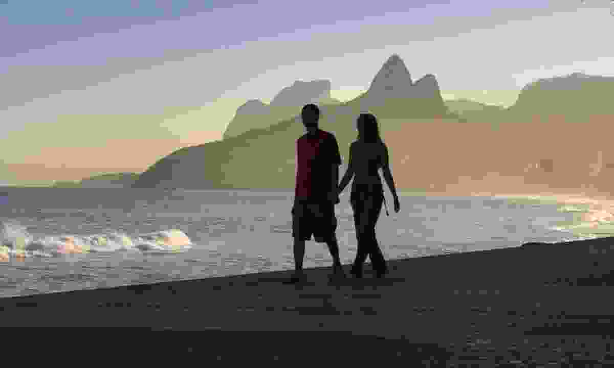 On a beach in Rio (Dreamstime)