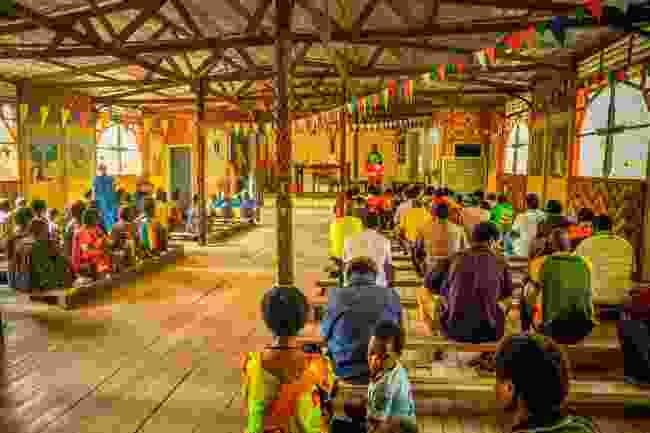 A church in Palembe, Papua New Guinea (Shutterstock)