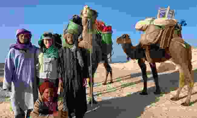 Alice on her adventures in the Sahara Desert (Alice Morrison)