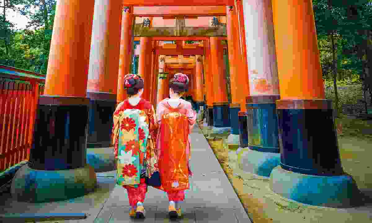 Visit a site that will succour your soul, like the temples of Kyoto, Japan (Dreamstime)