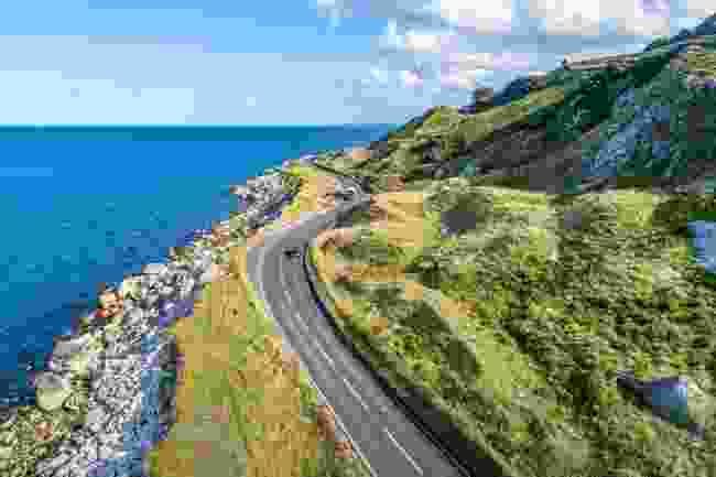 Antrim's coastal road (Shutterstock)