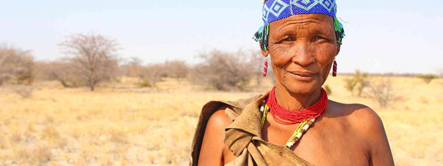 Woman from Juhoansi tribe, Botswana (Graeme Green)