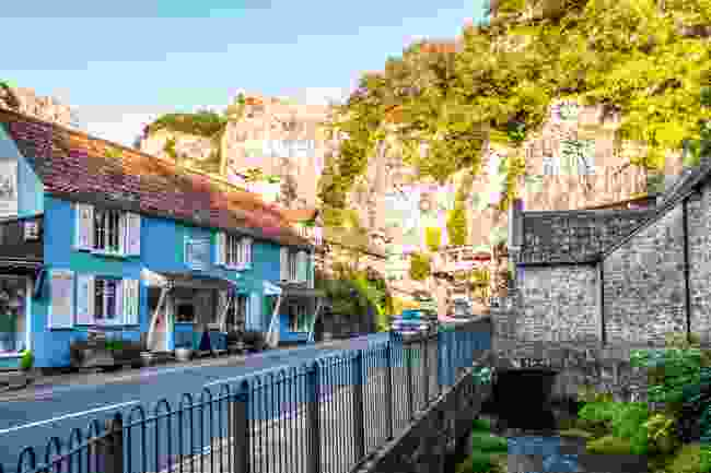 The awe-inspiring village of Cheddar in Somerset (Shutterstock)
