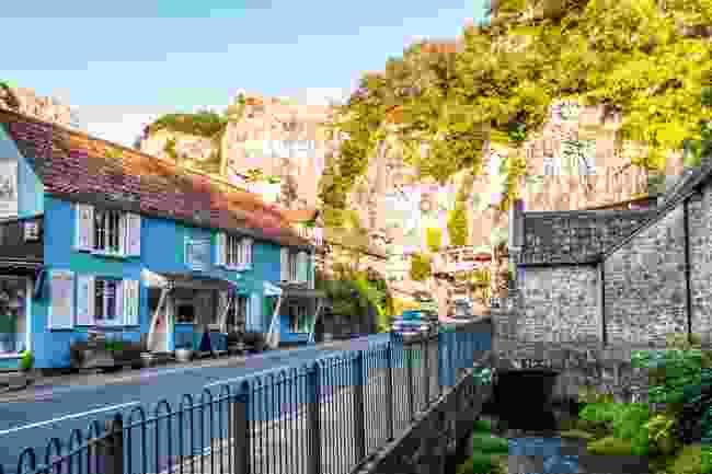 The awe-inspiring village of Cheddar in Somerset (Shutterstock)