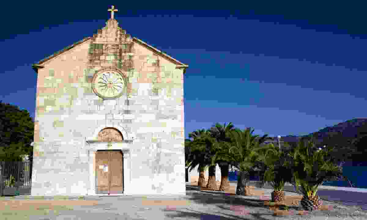 Old church in Vis (Dreamstime)