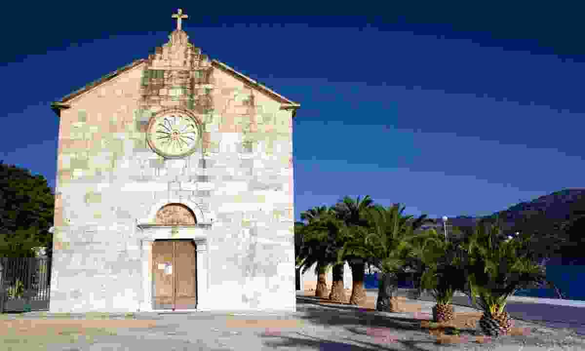 Old church in Vis (Dreamstime)