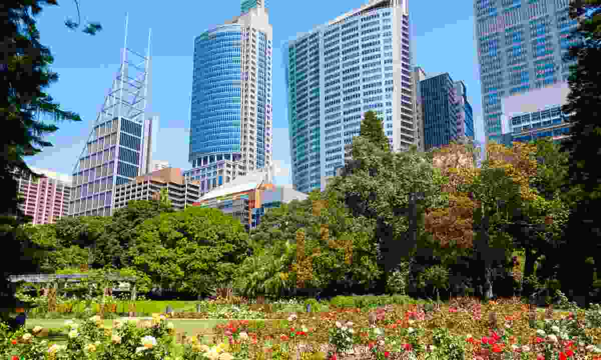 On the edge of the CBD (Dreamstime)