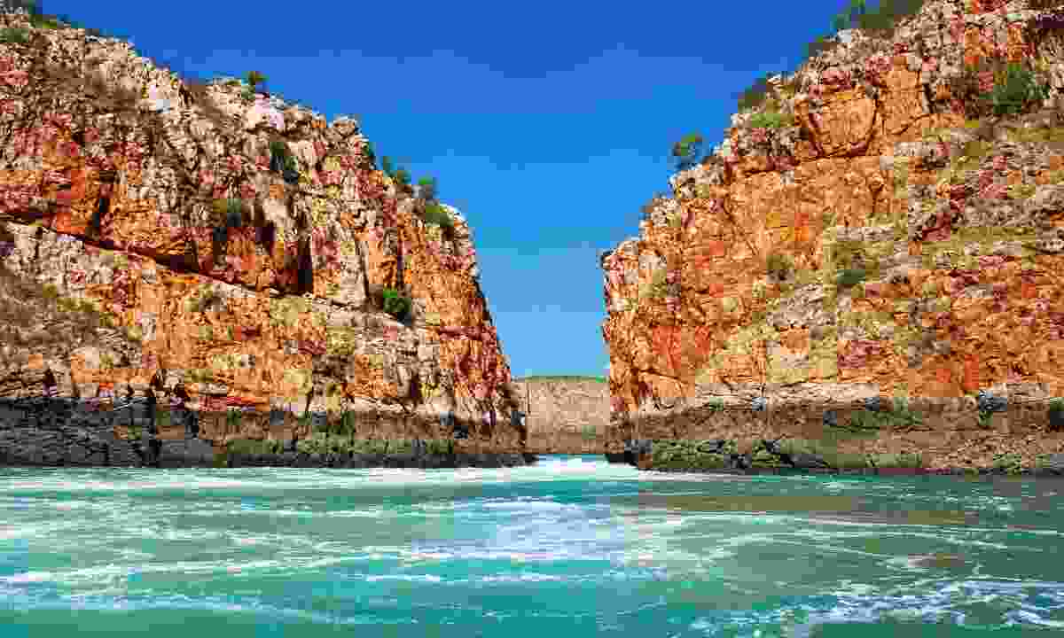 Horizontal Falls in the Kimberleys (Dreamstime)