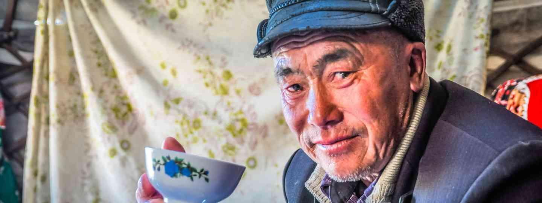 Nomadic horseman in Kyrgyzstan (Dreamstime)