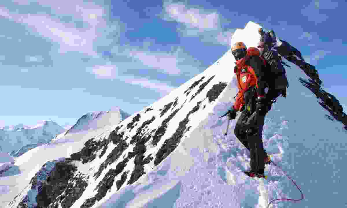 Climbing the North Face of the Eiger (Ian Parnell)