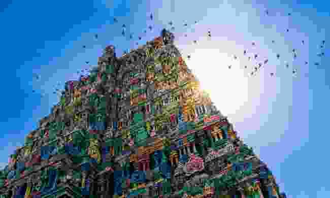 Meenakshi Amman Hindu temple in Madurai (Shutterstock)