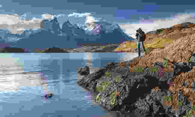 Hiker on the W Trek (Shutterstock)