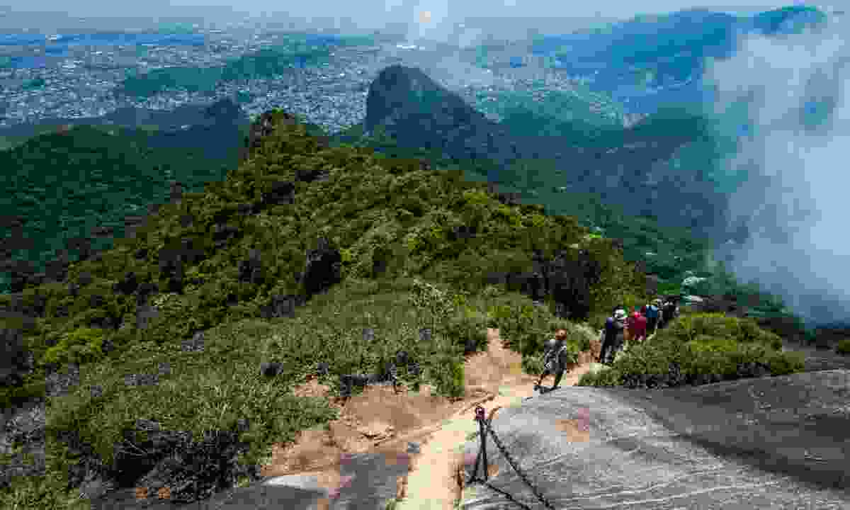 Hiking in Tijuca Forest National Park (Shutterstock)