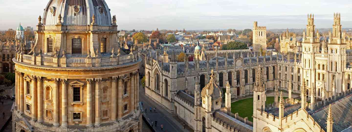Looking across Radcliffe Square Oxford (Shutterstock)