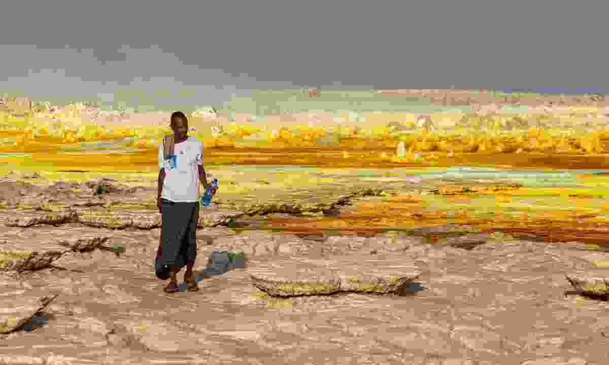 A sulphur lake in Dallol (Shutterstock)