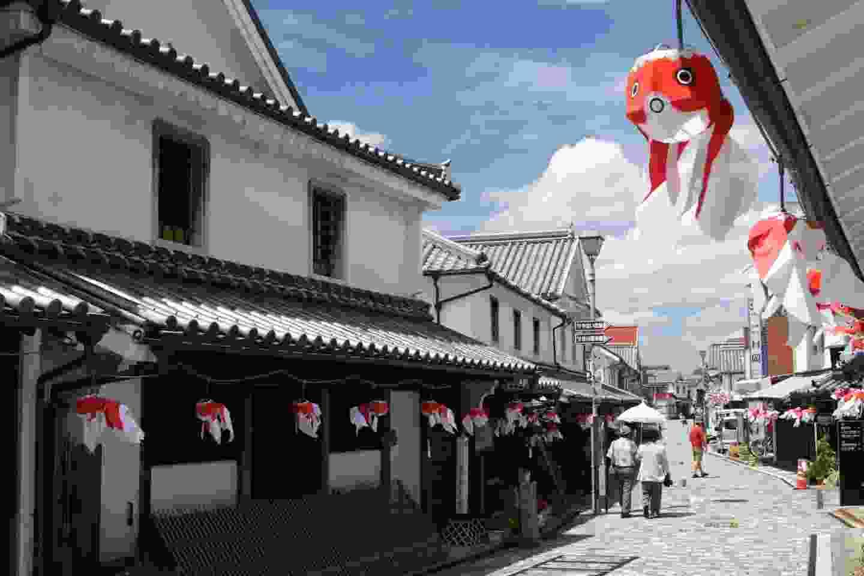Central Yanai's Shirakabe (setouchitourism.or.jp)