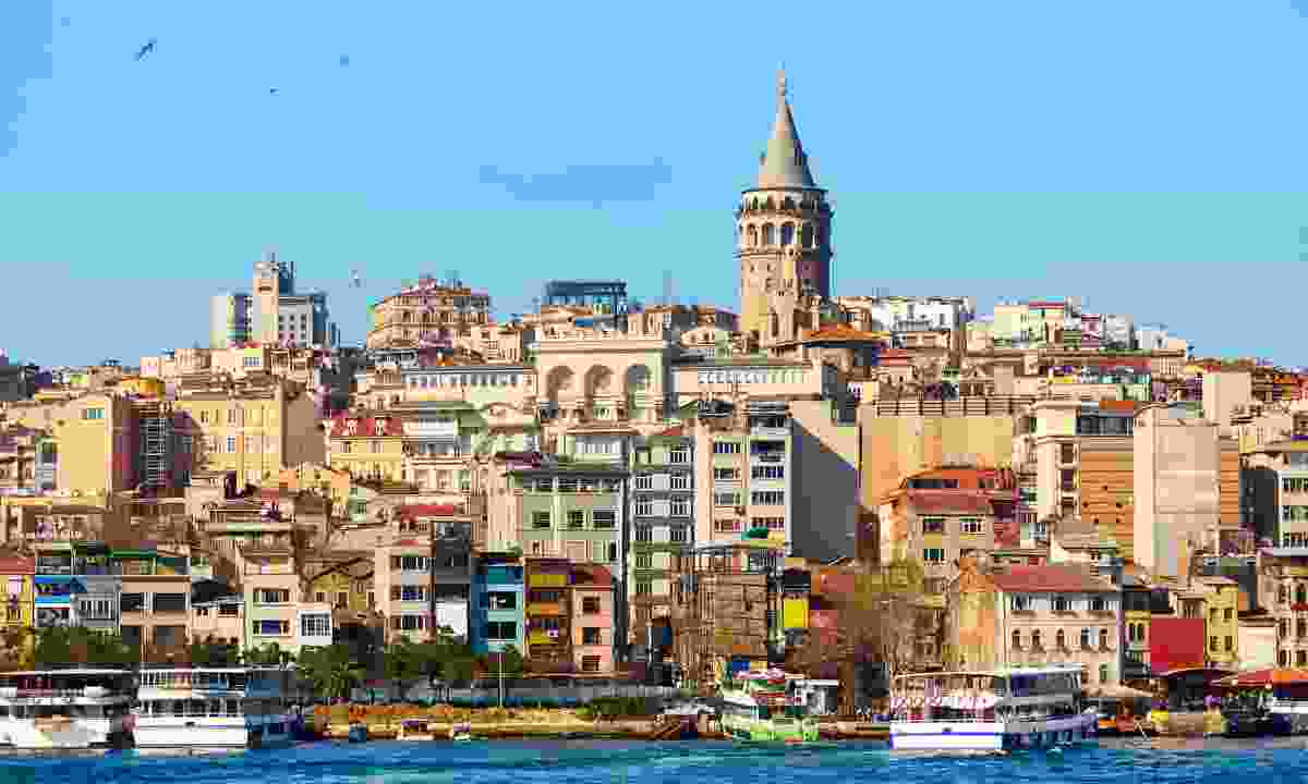 Beyoglu district in Istanbul, Turkey. (Dreamstime)