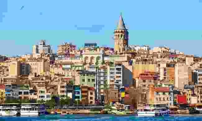 Beyoglu district in Istanbul, Turkey. (Dreamstime)
