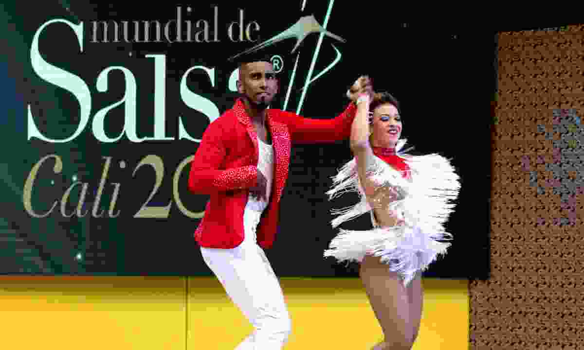 Salsa competition in Cali, Colombia (Dreamstime)