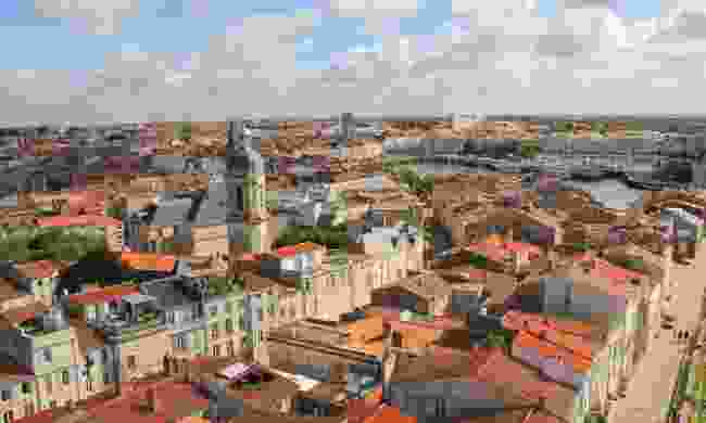 Aerial view of the Old Harbour of La Rochelle (Dreamstime)