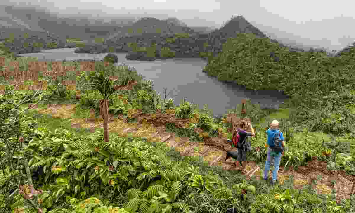 Dominica is a Caribbean island that has not been spoiled by mass tourism