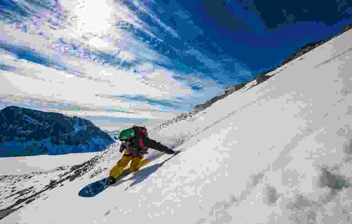 Seth Wescott in Greenland (Mike Artz)