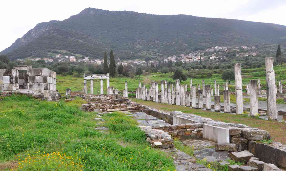 Messene ruins (Marc Dubin)