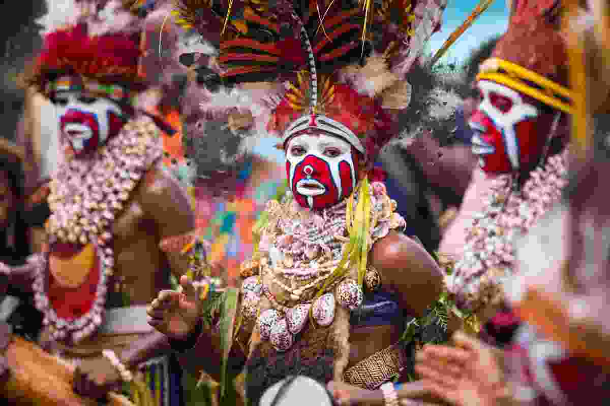 Tribes participating in the Mount Hagen Show, Papua New Guinea (Shutterstock)