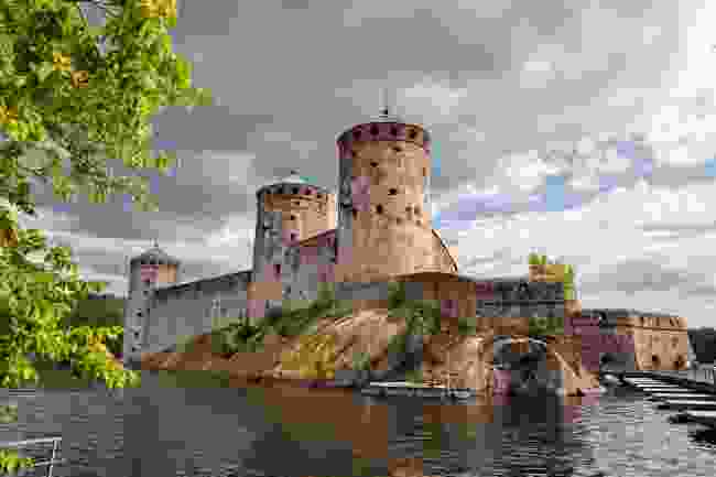 Olavinlinna Castle, in the Lakeland town of Savonlinna (Shutterstock)