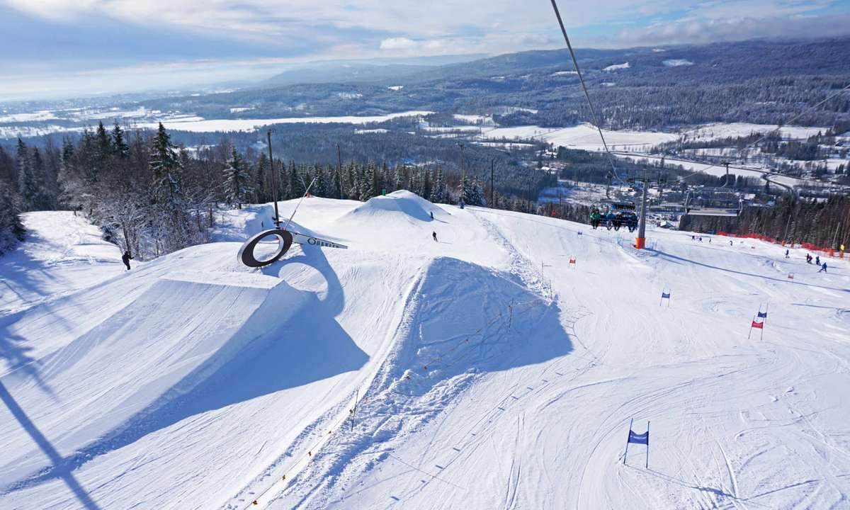 Oslo winter park, Norway (Tord Baklund Visitoslo)