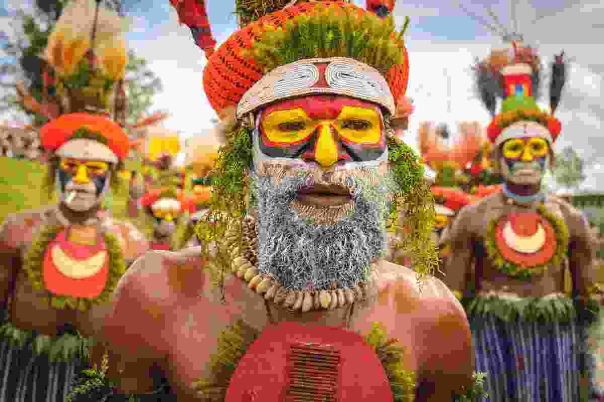 Mount Hagen Cultural Show in Mount Hagen township, Papua New Guinea (Shutterstock)