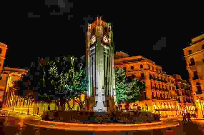 Place De L'Etoile Nejmeh Square Street Clock Tower (Shutterstock)