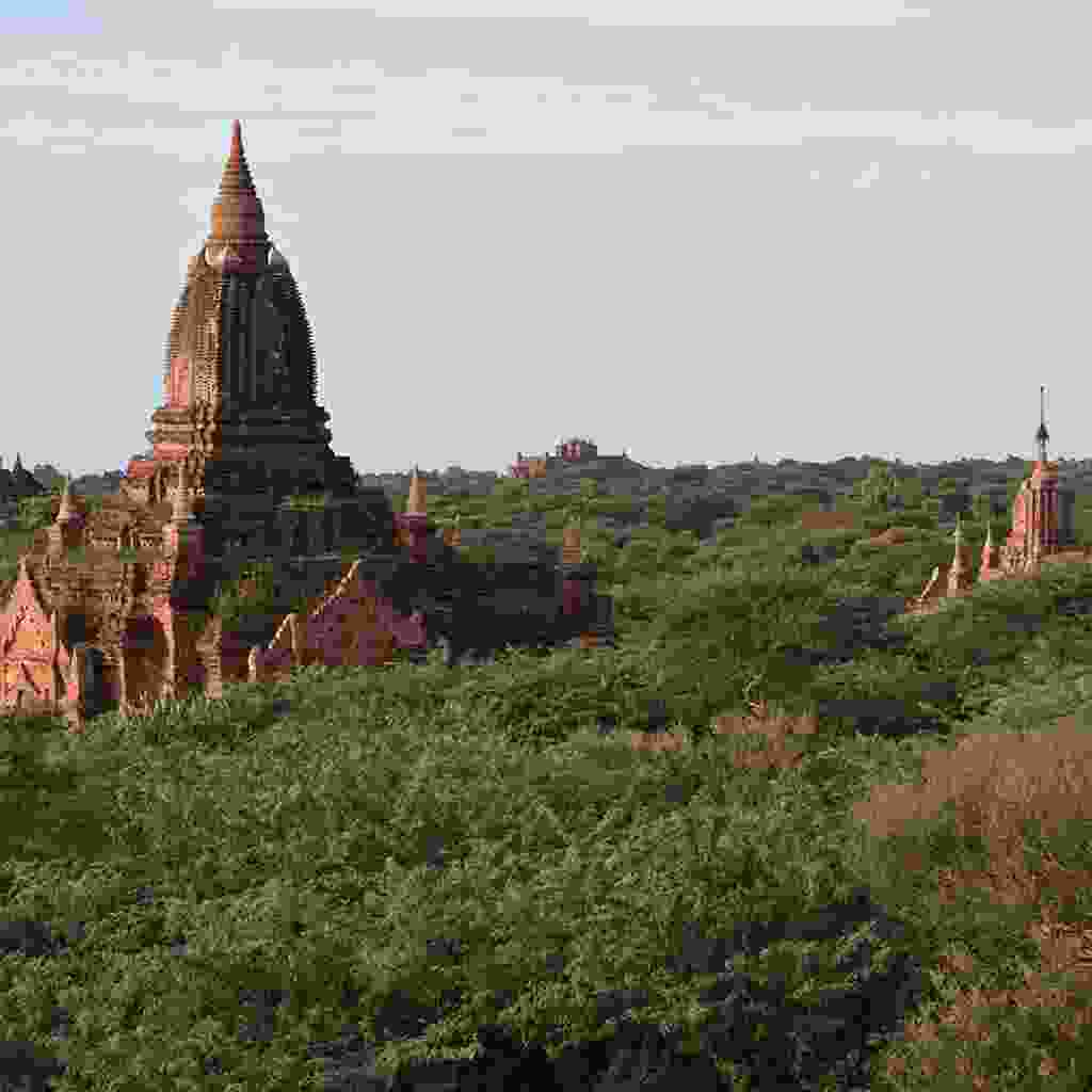 Get a closer look at some of Bagan's lesser-known temples (Rickshaw Travel)