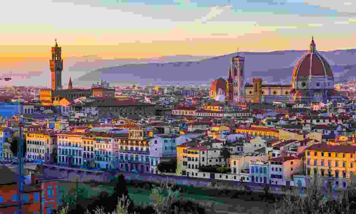View over Florence city centre from Piazzale Michelangelo (Shutterstock)