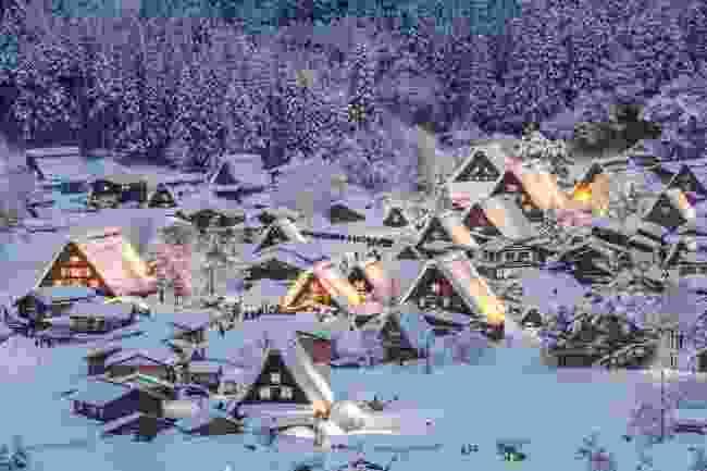 Shirakawa-Go in winter (Shutterstock)
