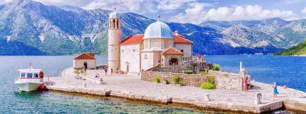 Visiting the Church of our Lady on the man made island is one of the best experiences in Kotor, Montenegro (Shutterstock)