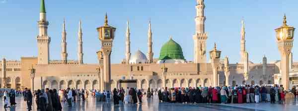 Medina, Saudi Arabia. (Shutterstock)