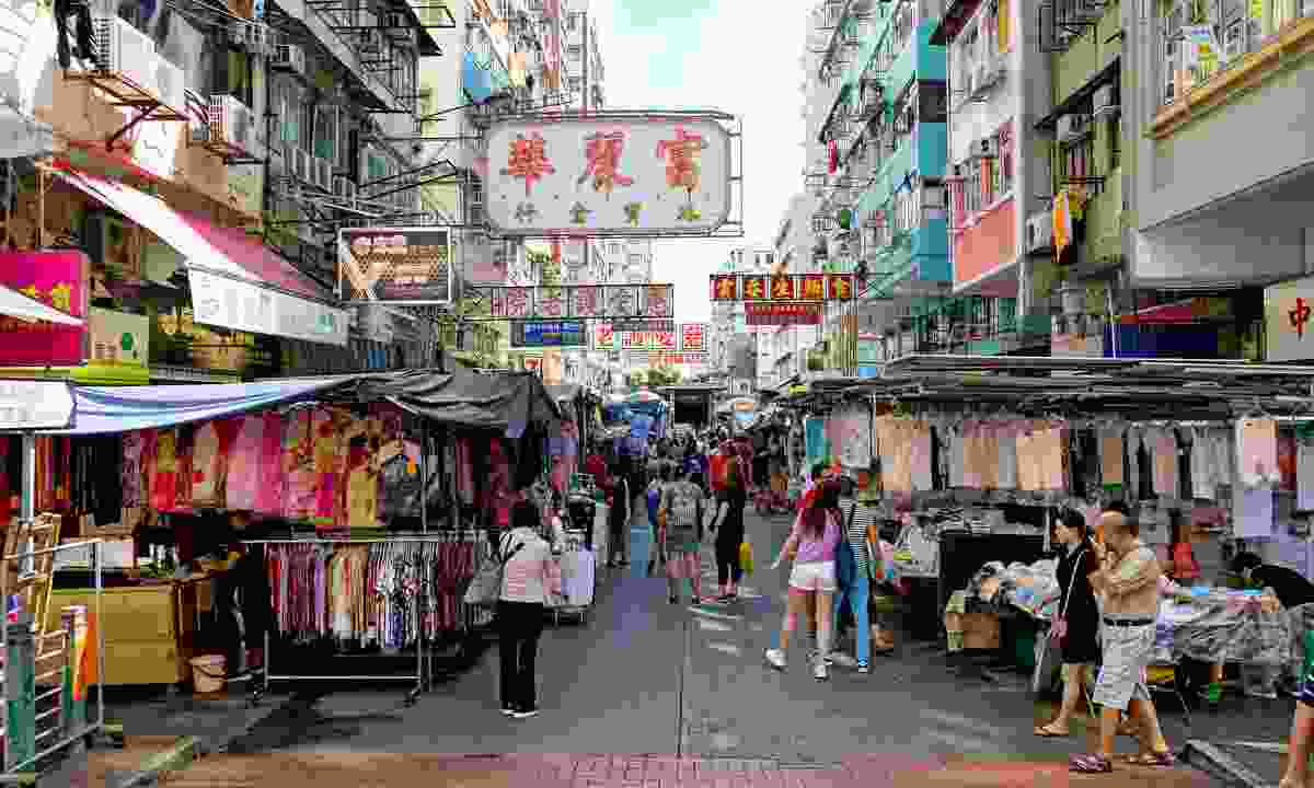 An intriguing street in  Sham Shui Po (Shutterstock)