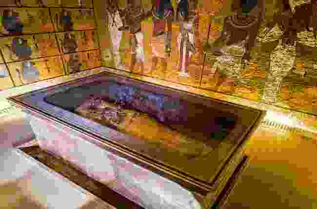The tomb of Tutankhamun in Luxor, Egypt (Shutterstock)