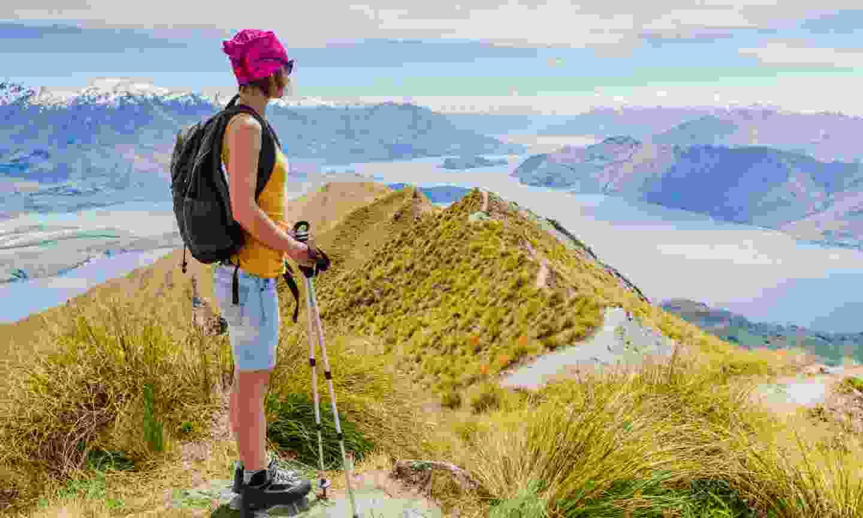 Hiking in New Zealand (Shutterstock)