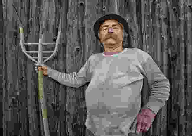 Mountain farmer, South Tyrol, Italy (Josef Hinterleitner)