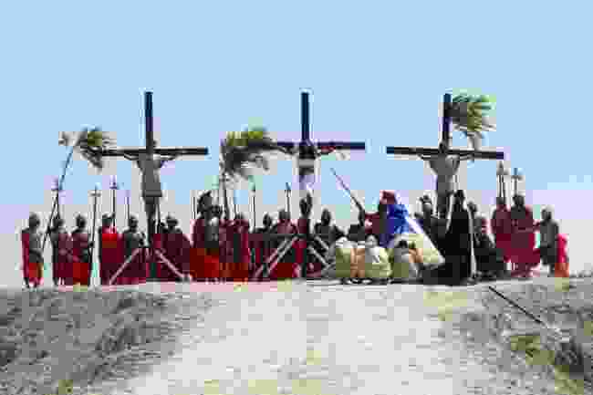 Crucifixion in the Philippines (Shutterstock)